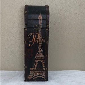 Decorative Wood single wine holder